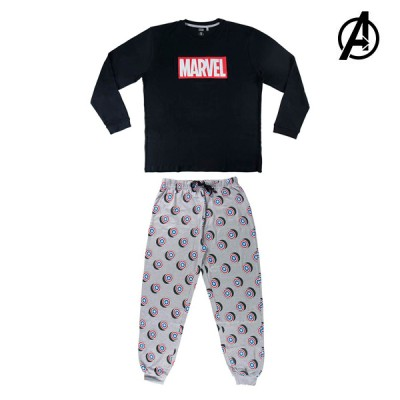 Pyjama The Avengers 74853 Bleu Adultes