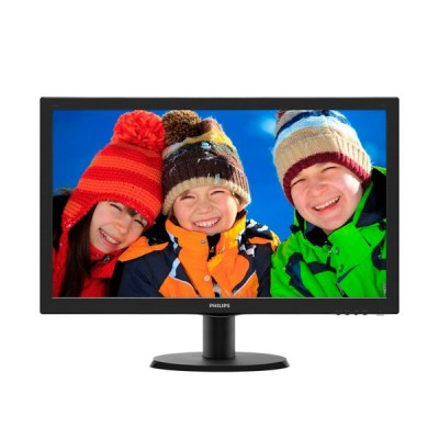 "Philips 243V5LHSB Moniteur 24"" Led 16:9 VGA DVI HDM"