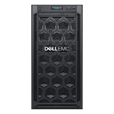 Serveur tour Dell PowerEdge T140 Xeon® E-2124 8 GB RAM 1 TB LAN Noir