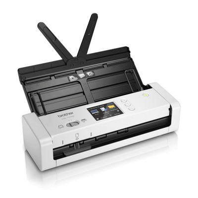 Scanner Portable Duplex Wifi Couleur Brother ADS-1700 7,5 ppm 1200 dpi Blanc