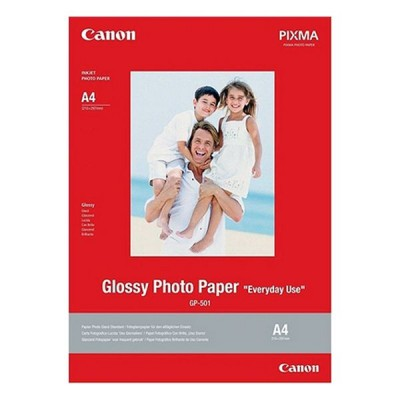 Papier Photo Glacé Canon GP-501 (20 Feuilles)