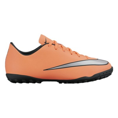 Chaussures de Football Multi-crampons pour Enfants Nike JR Mercurial Victory V TF Orange